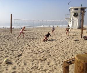 Volleyball at Laguna Beach