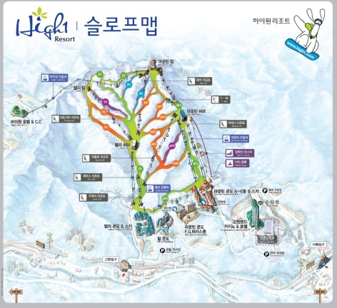 High1 slope map