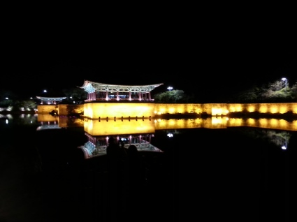 Anapji at night - Gyeongju