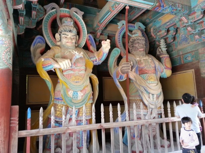 Temple Gate Statues