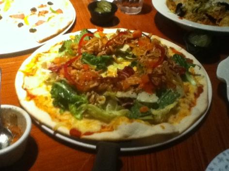 Pizza in Korea - Daegu
