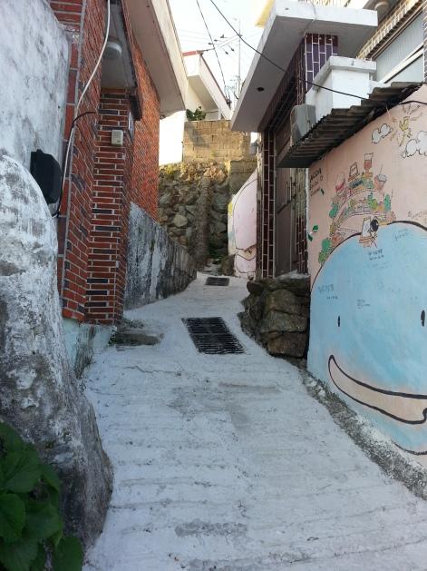 Mural at Tongyeong