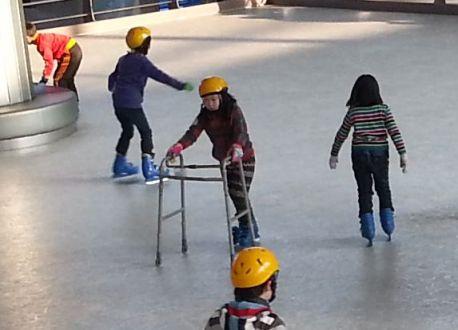 Seoul Airport Skating Rink